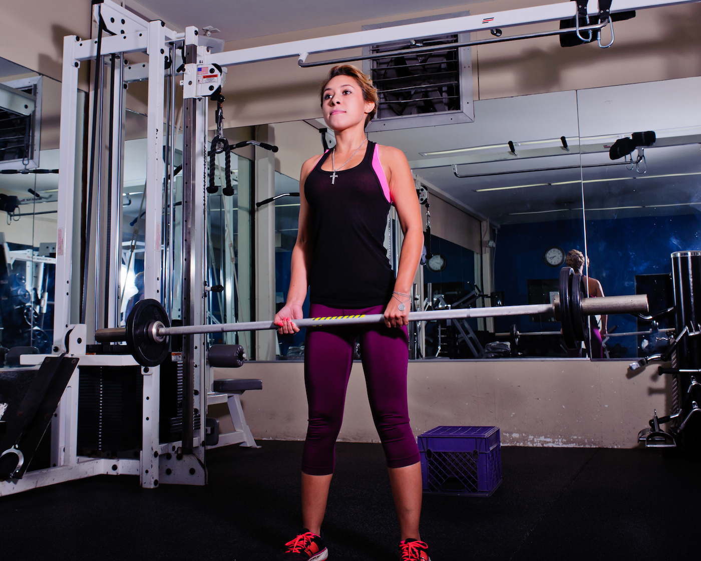 personal training workout session
