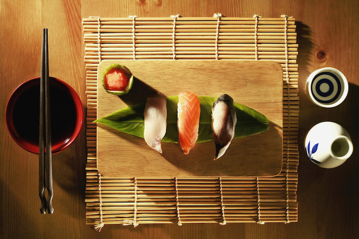 sushi for diet and fitness goals