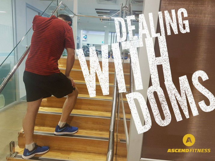 Dealing with DOMS