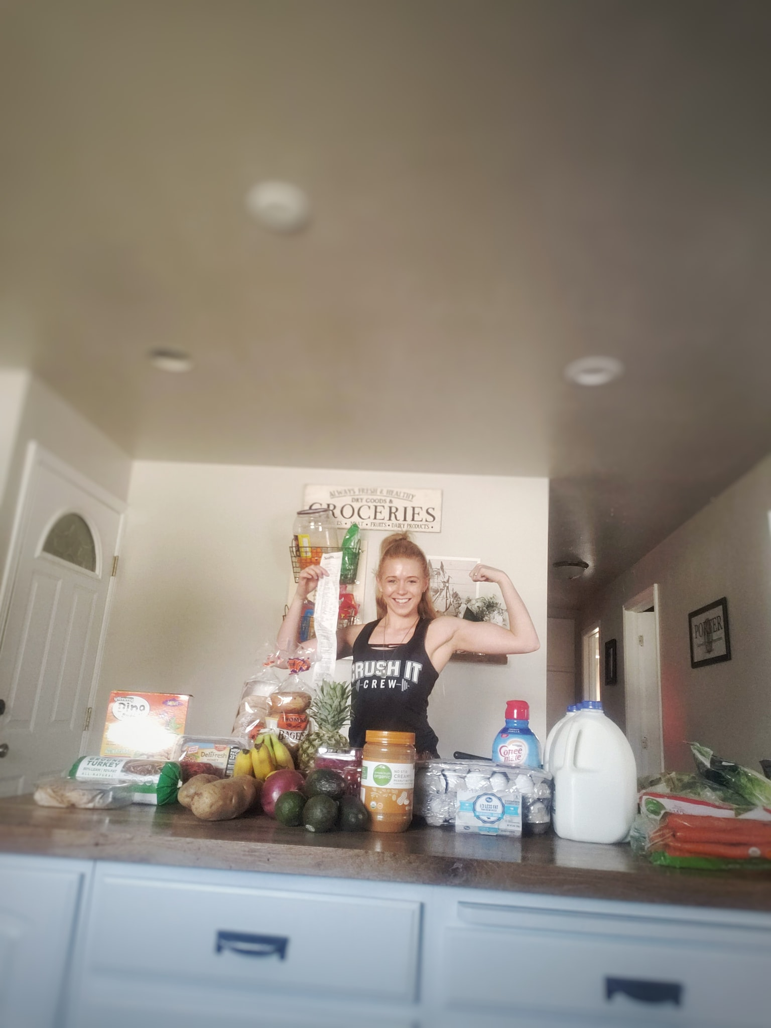 $150 grocery clean eating haul