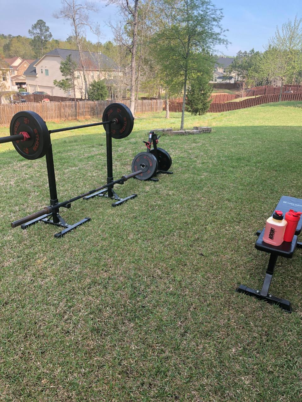 workout outside