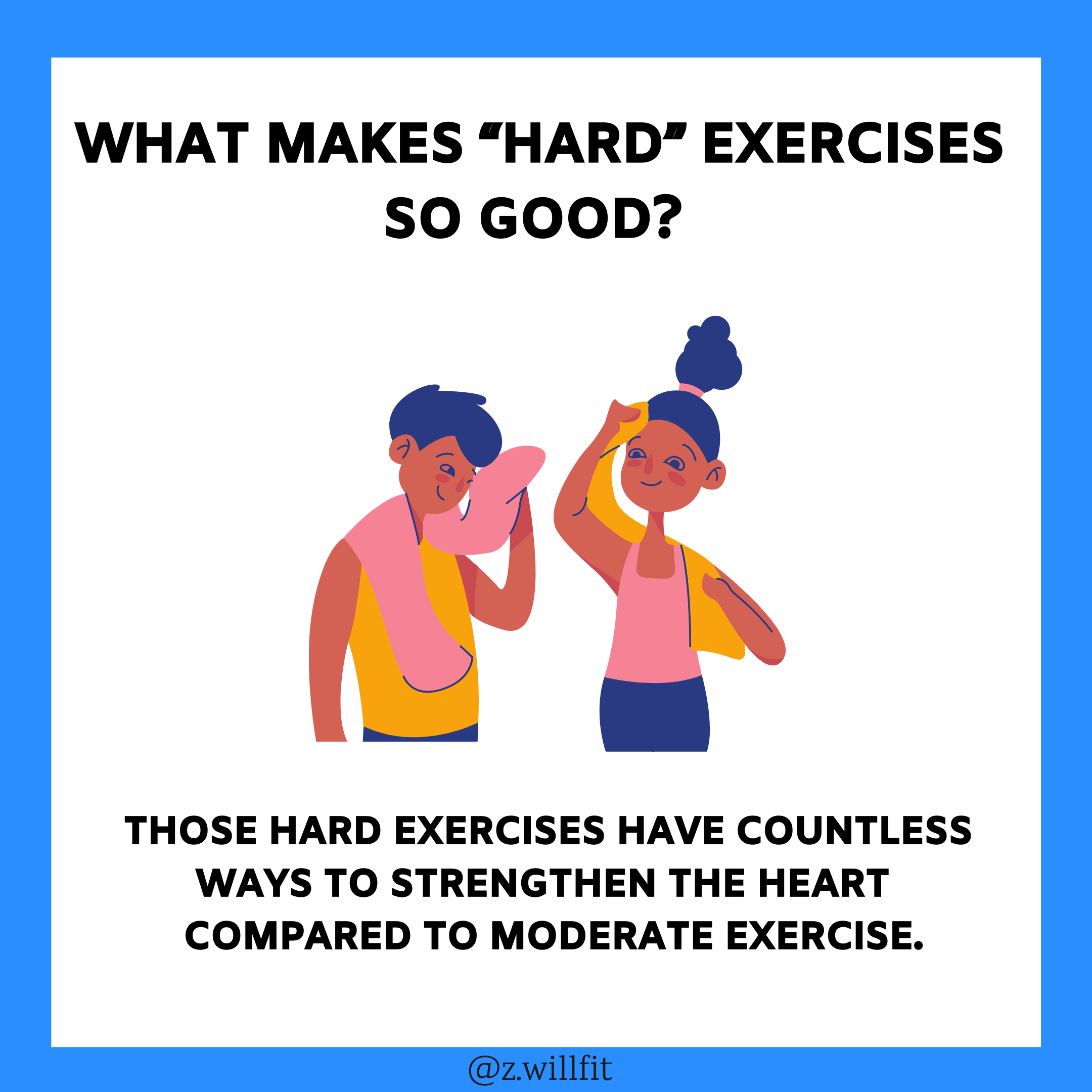 """Why Is """"Hard"""" Exercise So Effective?"""